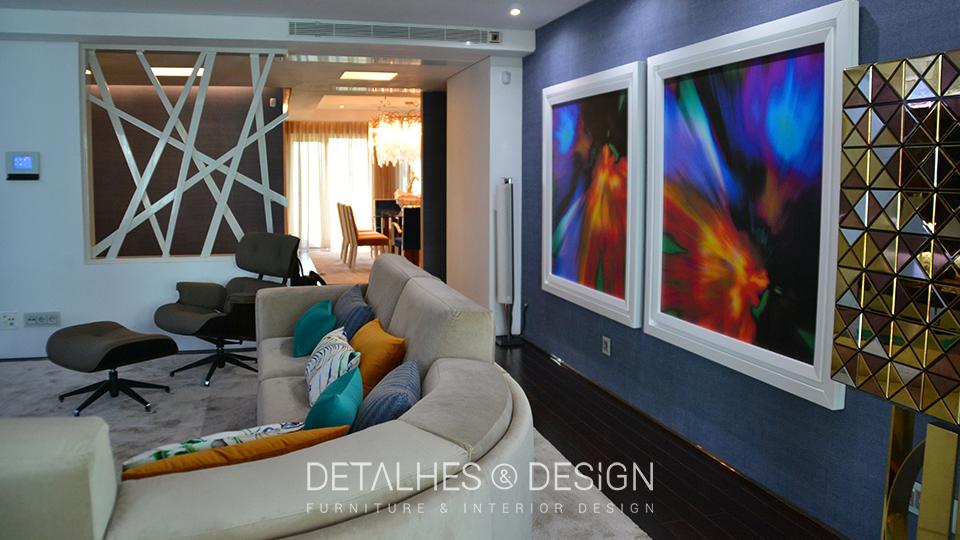 Projeto design de interiores sala de estar com zona infantil for Sala de estar infantil