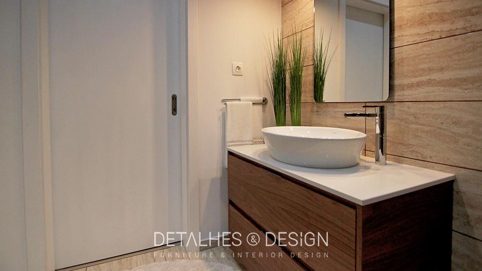 Projeto design de interiores casa de banho moderna - Decoradores de casas interiores ...